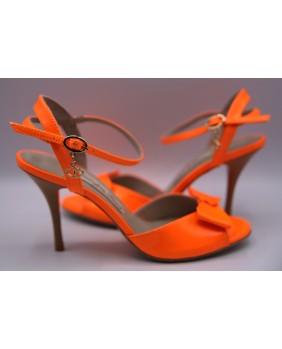Modèle T0002 - Orange Fluo
